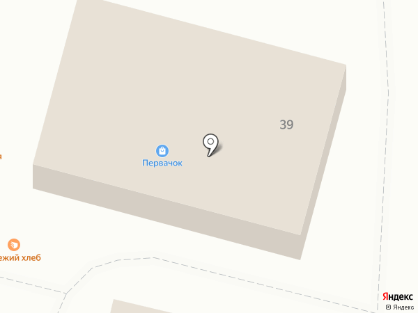 Первачок на карте Звенигорода