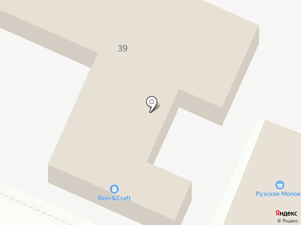 Хозяйственный магазин на карте Звенигорода