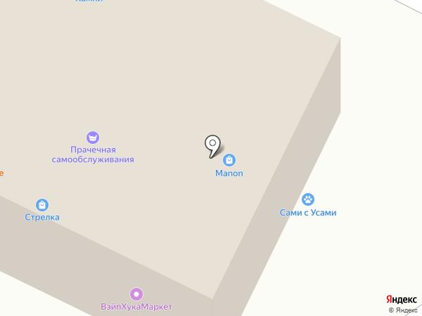 МакАвто на карте Звенигорода