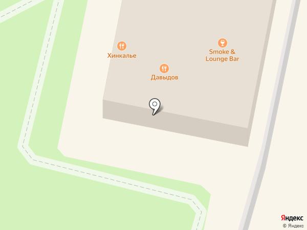 Давыдов на карте Истры