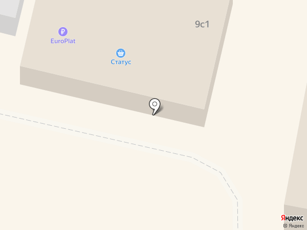 Статус на карте Истры