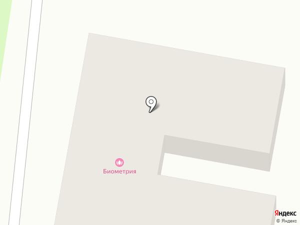 Парикмахерская на карте Истры