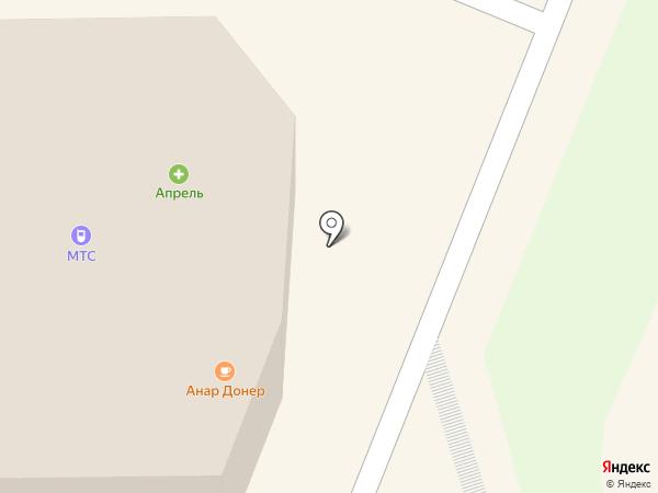 Столото на карте Истры