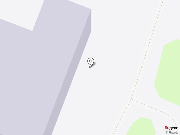 Лицей на карте Истры