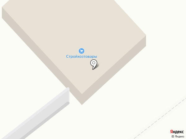 Магазин хозяйственных товаров и строительных материалов на карте Часцов