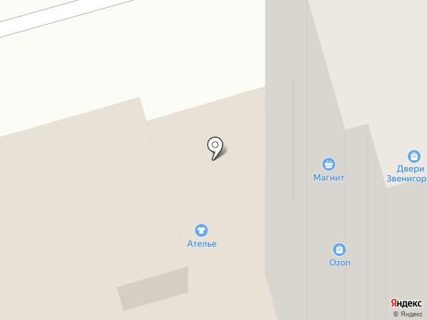 ТОН на карте Звенигорода