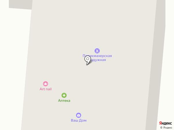 Анастэль на карте Истры