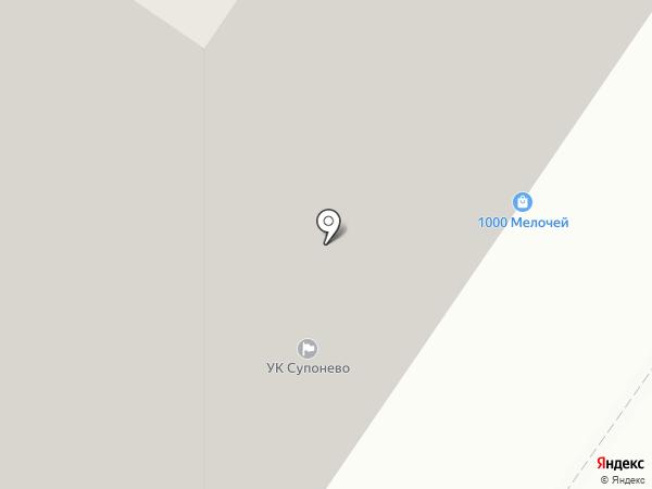 Кактус на карте Звенигорода