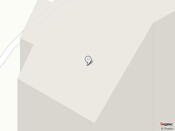 Дэка на карте Звенигорода