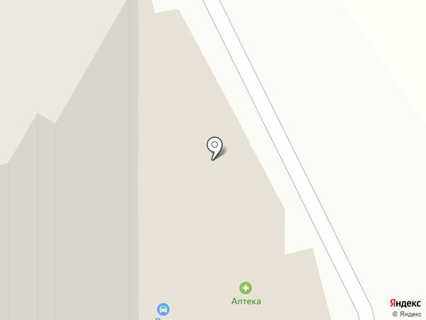 Алекса на карте Звенигорода