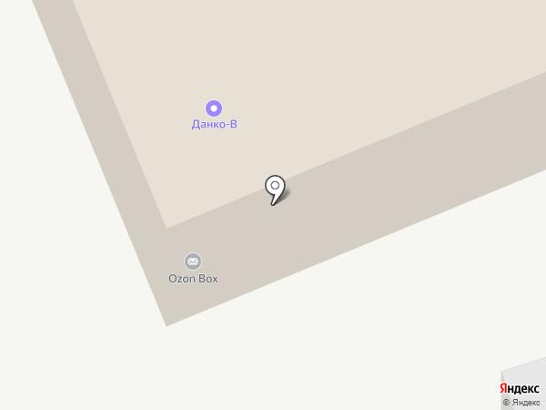 Данко-В на карте Истры