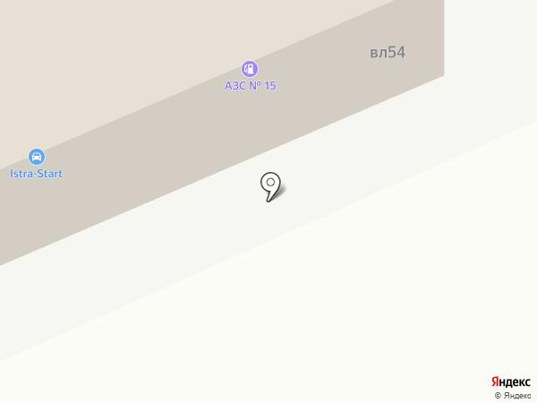 Istra-Start на карте Истры