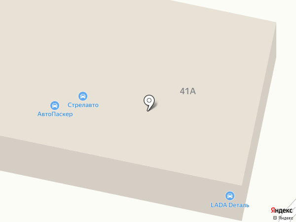 Автопаскер на карте Истры