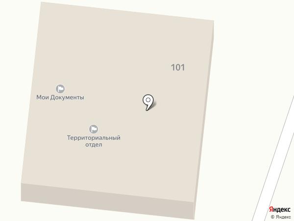 Администрации сельского поселения Ивановское на карте Павловского