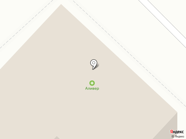 Аливер на карте Калининца