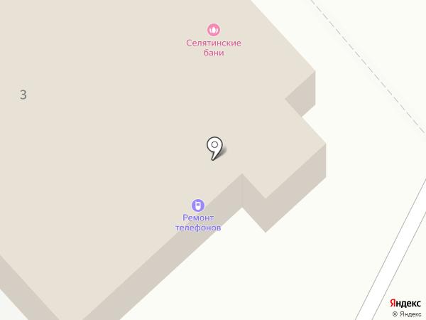 Петровское на карте Селятино