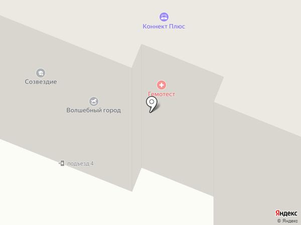 Новое Селятино-Комфорт на карте Селятино