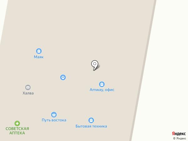 Гастроном №4 на карте Селятино