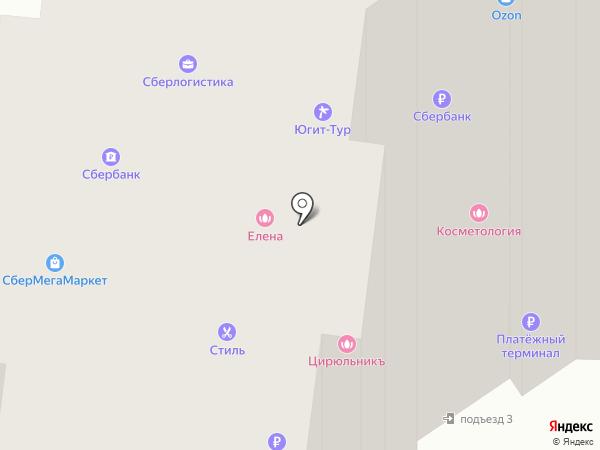 Позитив на карте Селятино