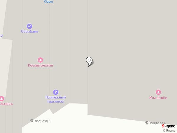 Башмачок на карте Селятино