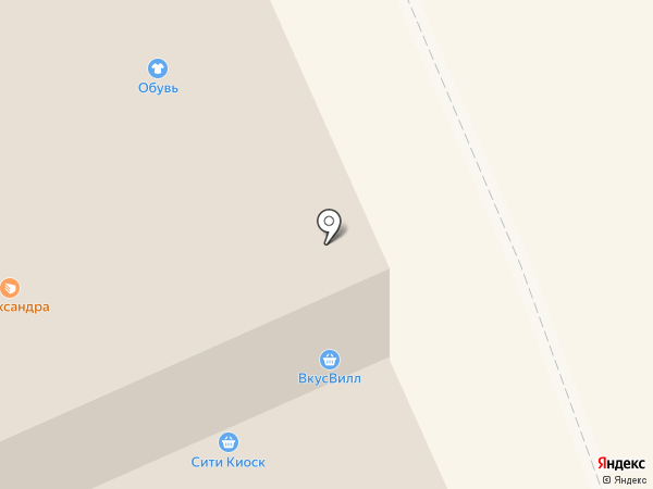 Subway на карте Голицыно