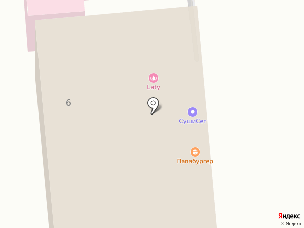 СушиСет на карте Голицыно