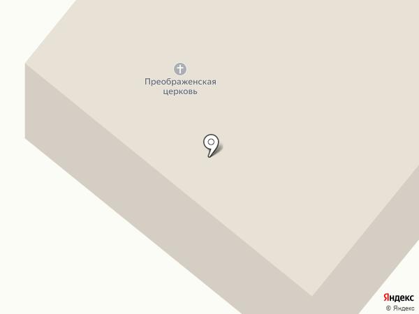 Спасо-Преображенская церковь на карте Больших Вязёмов