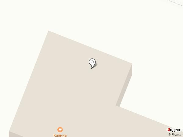 Калина на карте Калининца