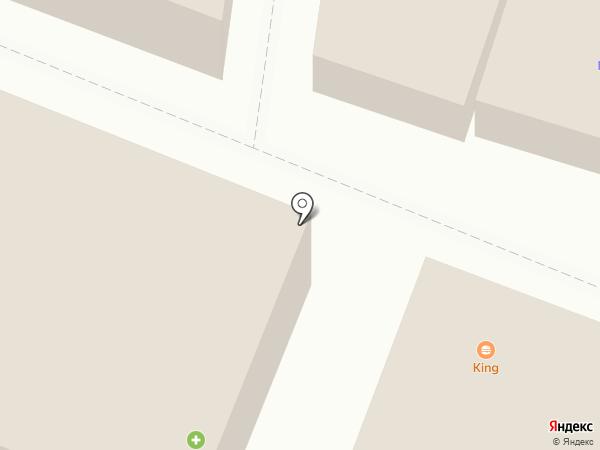Фламинго на карте Калининца