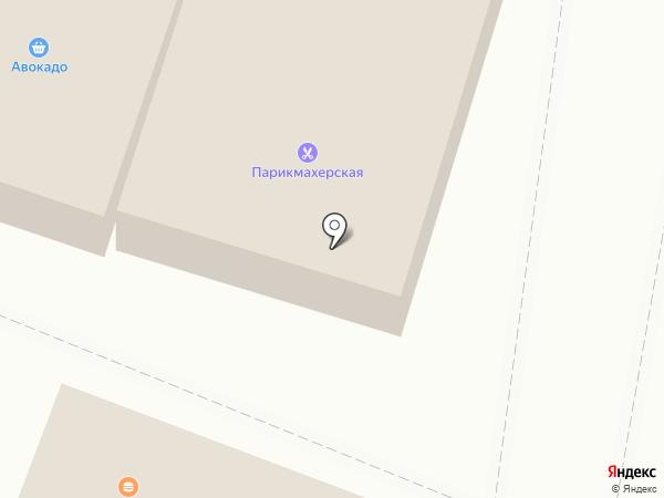 Изба на карте Калининца
