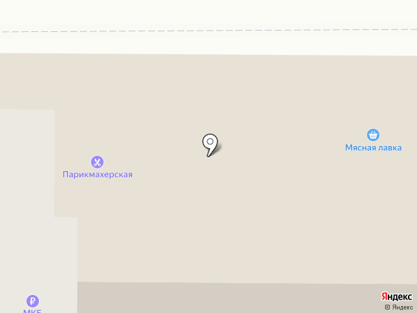 Мясной хуторок на карте Больших Вязёмов