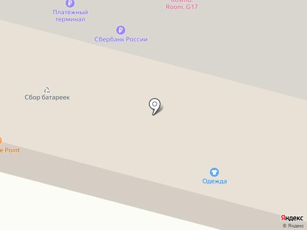 Цветочный магазин на карте Больших Вязёмов