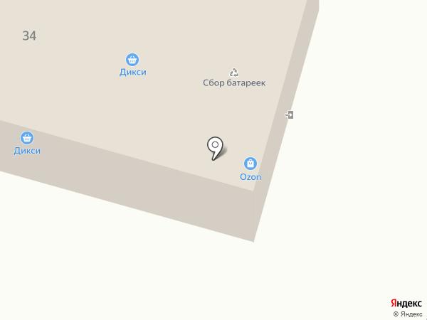 Дикси на карте Снегирей