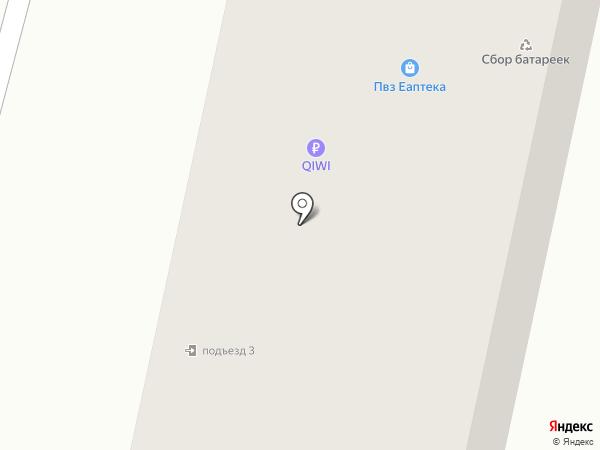 Мозаика на карте Снегирей
