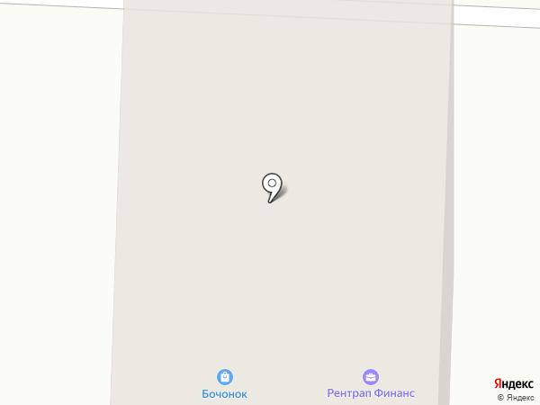 Бочонок на карте Краснознаменска