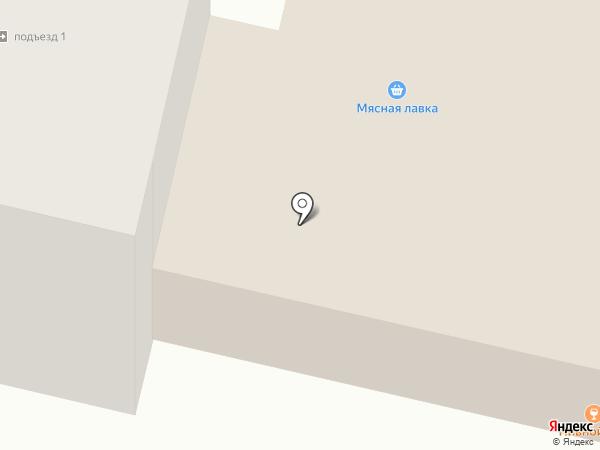 Автостоянка на Октябрьской на карте Снегирей