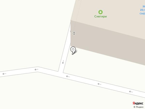 Марвин-плюс на карте Снегирей