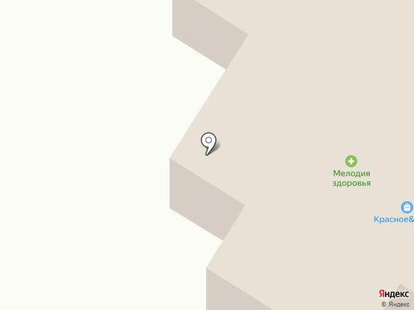Бар на Железнодорожной на карте Снегирей