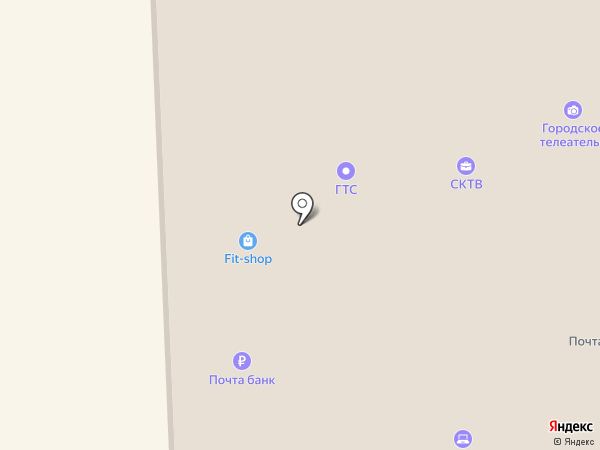 СКТВ на карте Краснознаменска