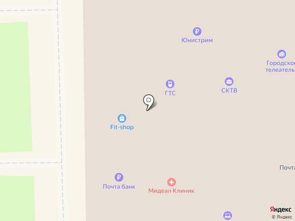 ТВР+ на карте Краснознаменска