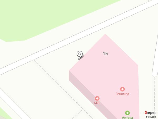 KDL на карте Краснознаменска