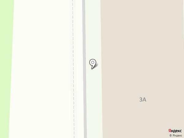 Заря на карте Краснознаменска
