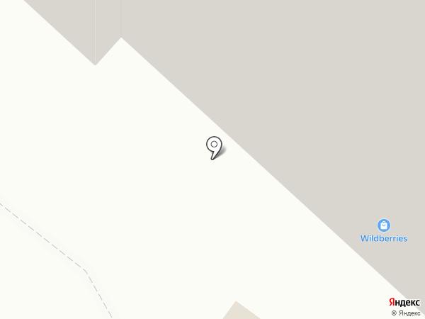 Поварово-Первый на карте Поварово