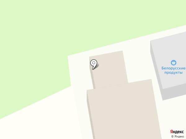 Автомойка на карте Павловской Слободы