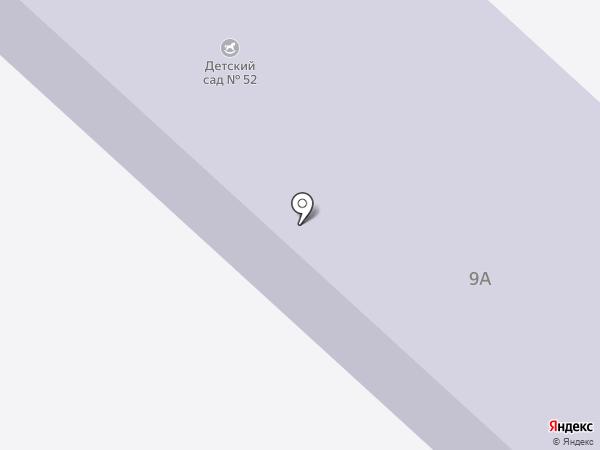 Детский сад №52 на карте Поварово