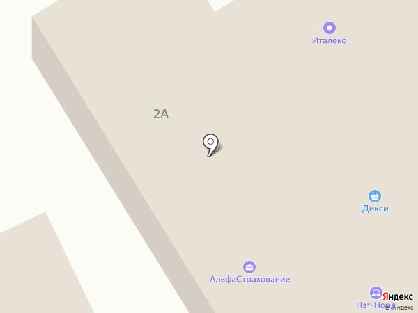 ВБС на карте Поварово