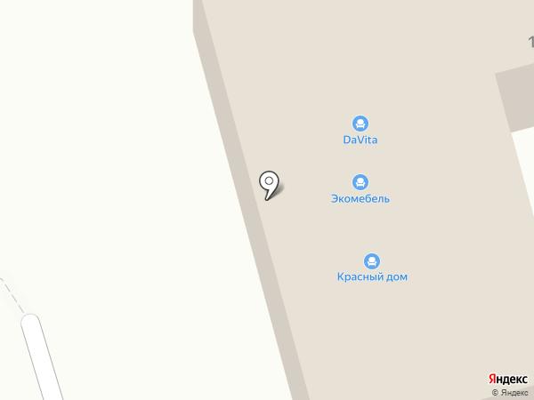 Красный Дом на карте Апрелевки
