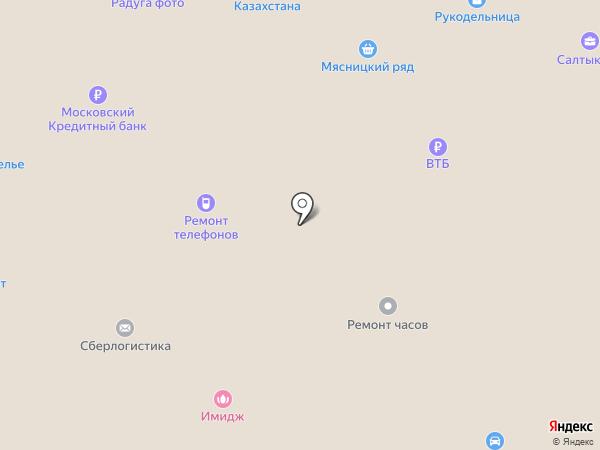 Апрелевка на карте Апрелевки