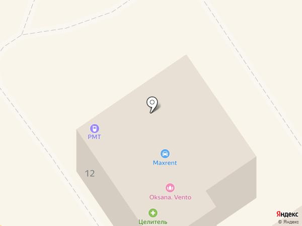Избёнка на карте Апрелевки