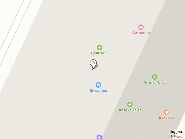 КБ Геобанк на карте Апрелевки